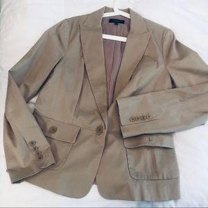 Khaki Talbot's women's blazer